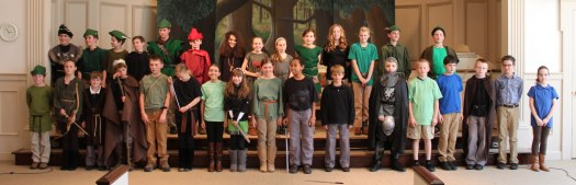 5th grade after Robin Hood play.